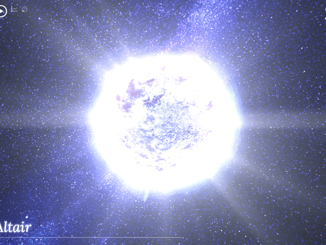 100.000 Stars : se promener dans l'espace avec Chrome