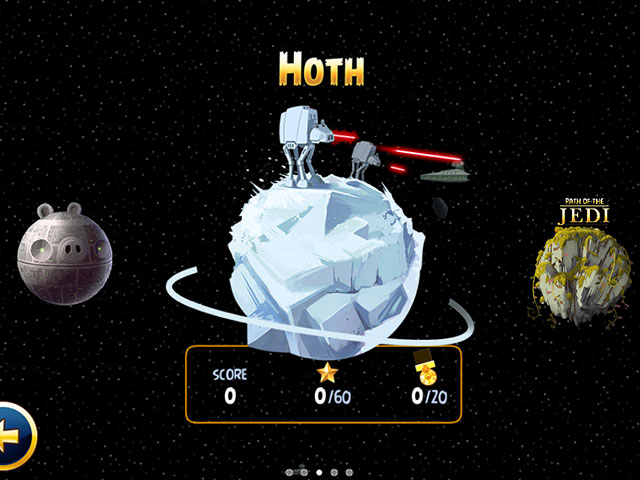 Angry Birds Star Wars : Hoth, la planète de glace