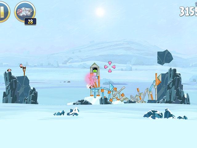 Angry Birds Star Wars : le pouvoir de la Princesse Leia en action