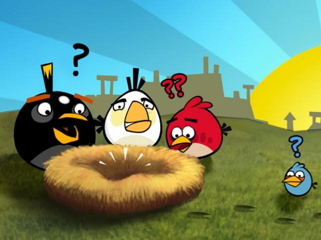 Participe au grand tournoi Angry Birds organisé par Samsung !