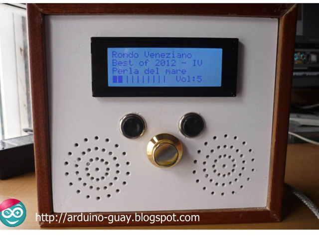 Arduino Jukebox : un chouette lecteur MP3 de salon