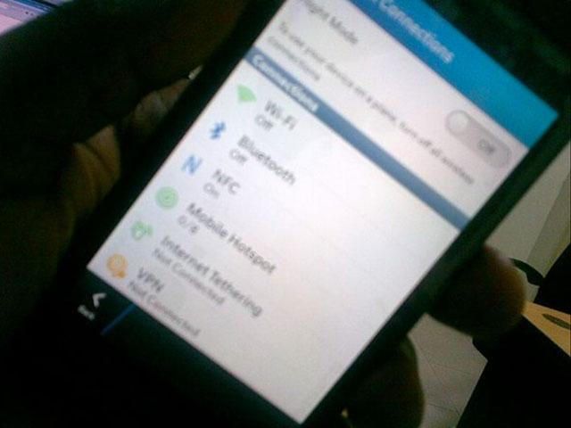 Les paramètres de BlackBerry 10