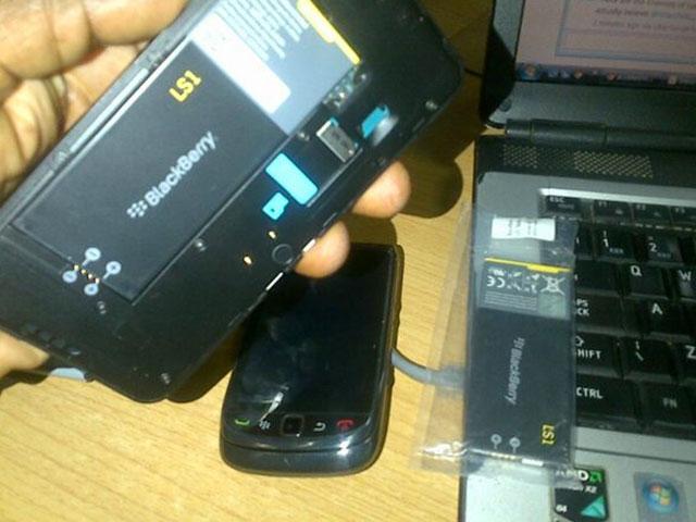 La batterie du BlackBerry 10 L-Series