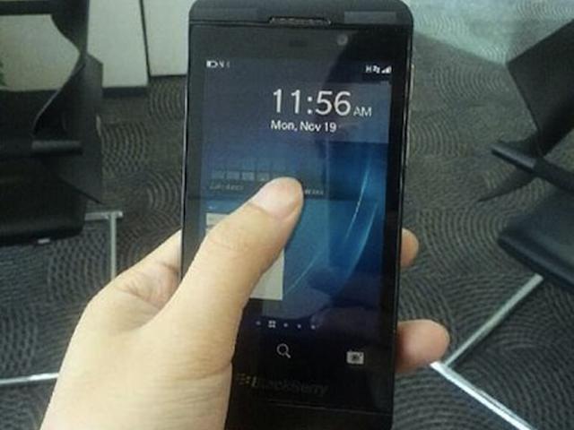 De nouvelles photos du BlackBerry 10 L-Series