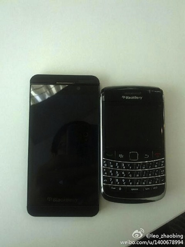De nouvelles photos du BlackBerry 10 L-Series