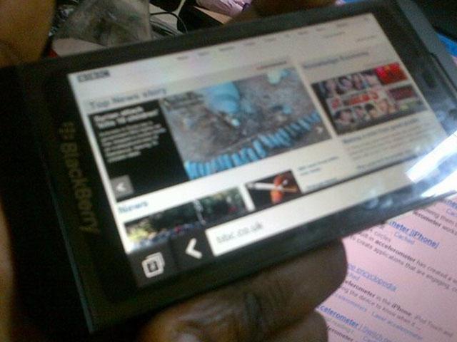 Le navigateur web de BlackBerry 10 (bis)