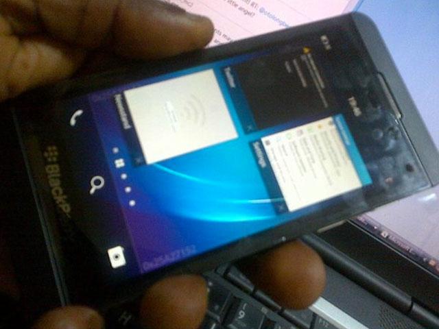 Le multitâche de BlackBerry 10