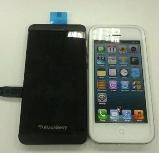 BlackBerry 10 L-Series vs iPhone 5 : une différence de taille ?