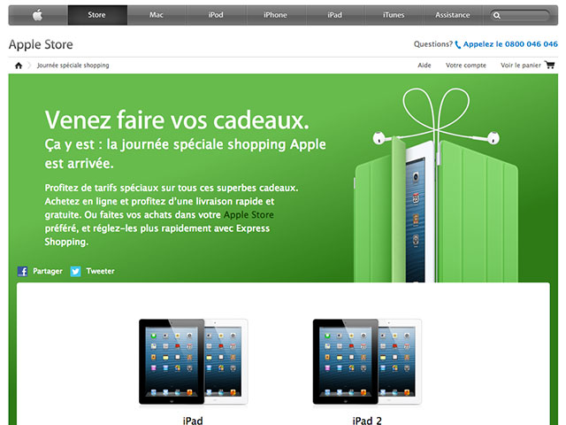 Black Friday : toutes les promotions d'Apple