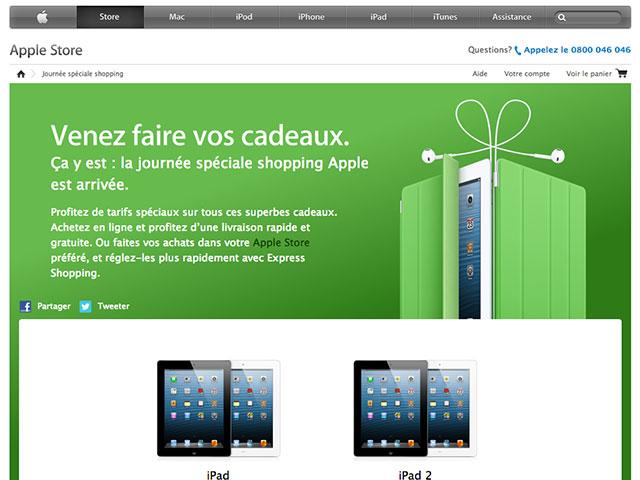 Black Friday : toutes les promotions d'Apple