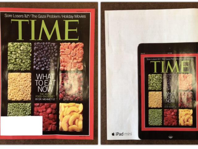 iPad Mini : une campagne publicitaire sur fond de Kiosque