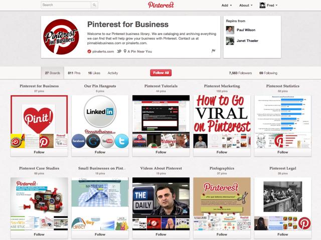 Pinterest : les comptes entreprises sont arrivés !