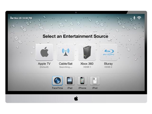 Concept iTV : la sélection de la source