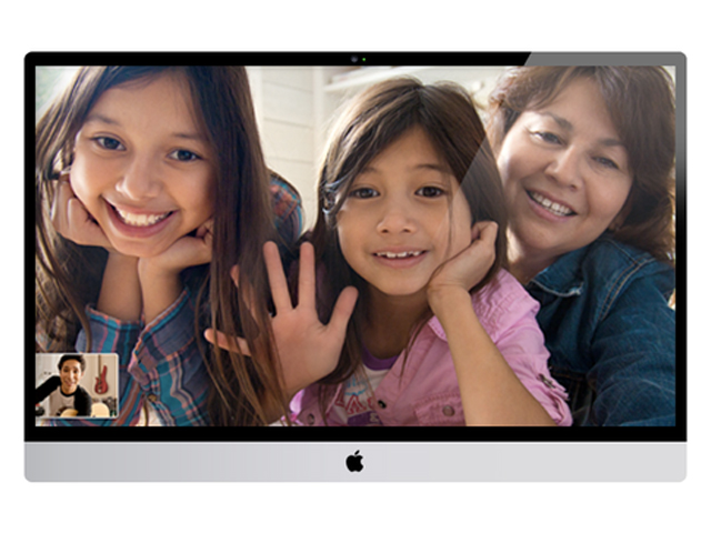 Concept iTV : FaceTime