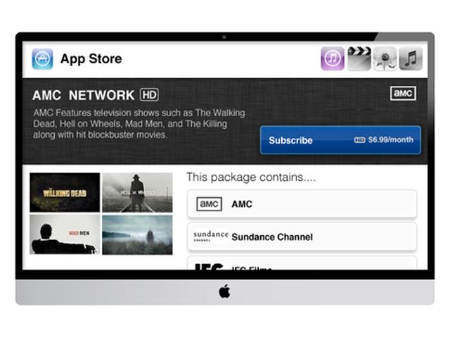 Concept iTV : l'AppStore (ter)