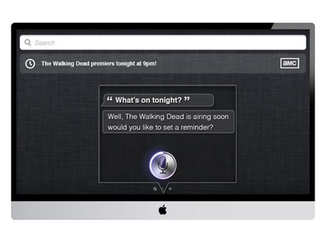 Concept iTV : Spotlight & Siri