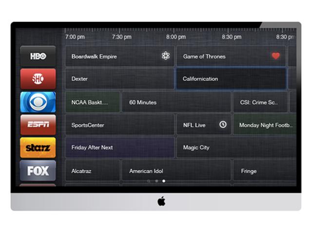 Concept iTV : le guide TV
