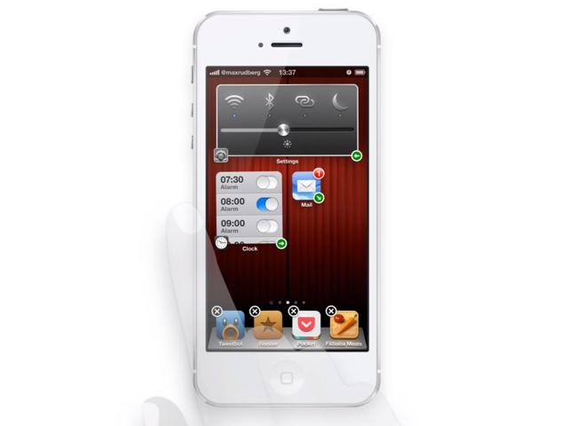 iOS : un concept d'icônes redimensionnables en vidéo