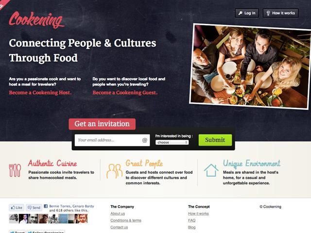 Header du site cookening