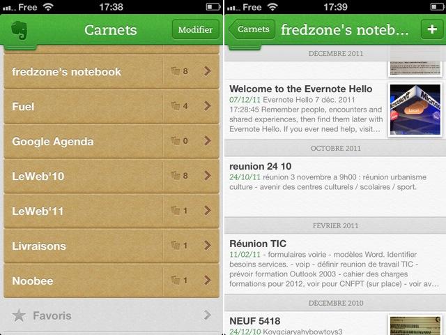 Evernote 5.0 débarque sur iOS