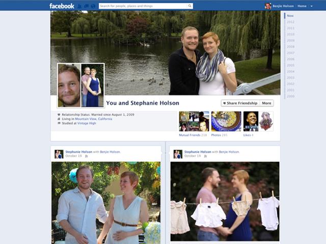 Facebook : arrivée des pages pour les couples