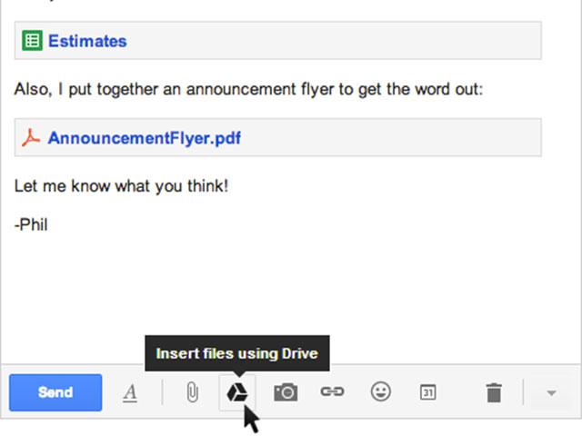 Gmail : des pièces jointes jusqu'à 10Go grâce à Google Drive