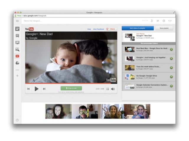 Google+ : des nouveautés pour les Hangouts