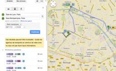 Google Transit débarque à Paris !