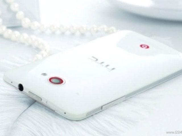 HTC Deluxe Blanc : vue de dessus