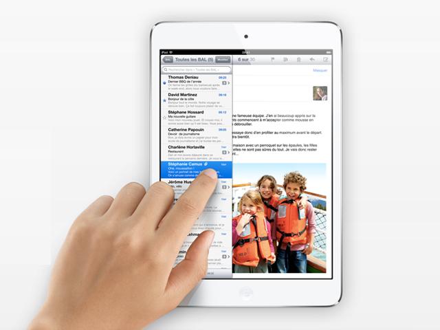 Où l'on parle, déjà, de l'iPad Mini 2