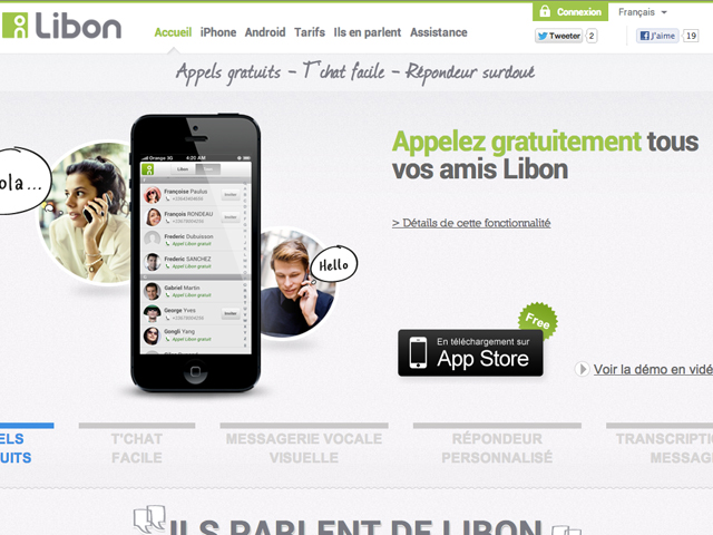 Libon : la communication by Orange