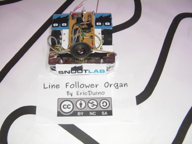 Line Follower Organ : un instrument de musique à base d'Arduino