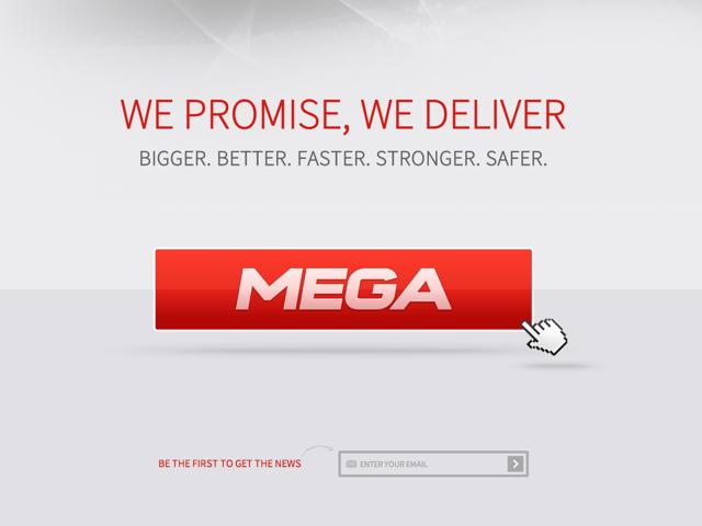 Me.ga, le nouveau nom de domaine pour Megaupload