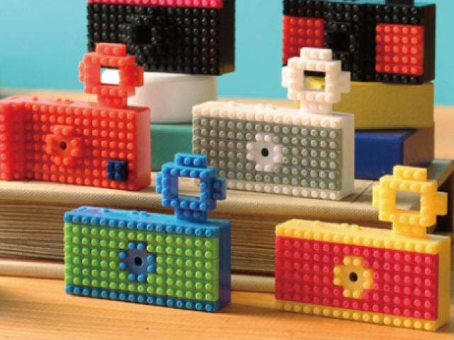 Nanoblock : un APN / Camera tout en LEGO !