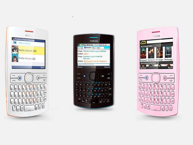 Asha 205 & 206, deux nouveaux mobiles chez Nokia