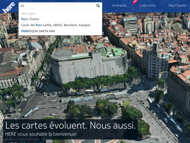 Nokia Here : Nokia Maps 2.0