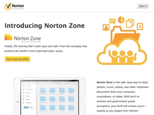 """Norton Zone : Symantec passe au """"cloud"""""""