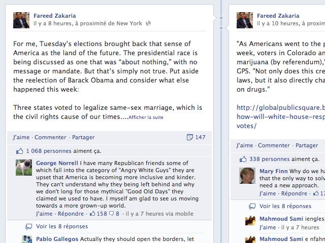 Facebook : bientôt le classement des commentaires