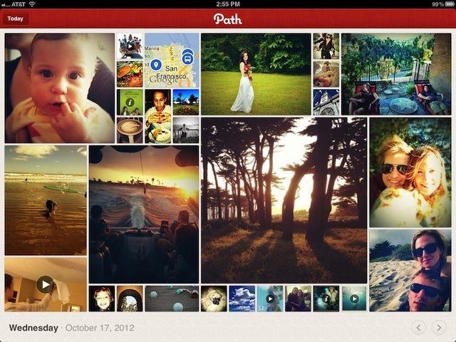 Path débarque sur iPad !