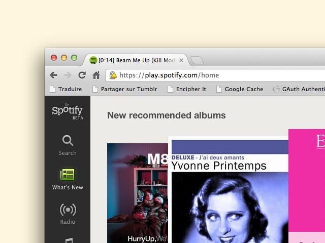 Spotify : tester le service web dès maintenant et sans attendre