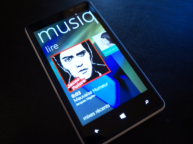 Test : Nokia Lumia 820