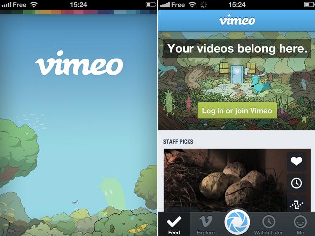 Vimeo 3.0 est dispo sur iOS