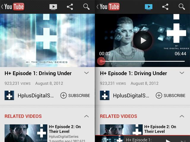 YouTube : bientôt une nouvelle application Android avec le support des Google TV !