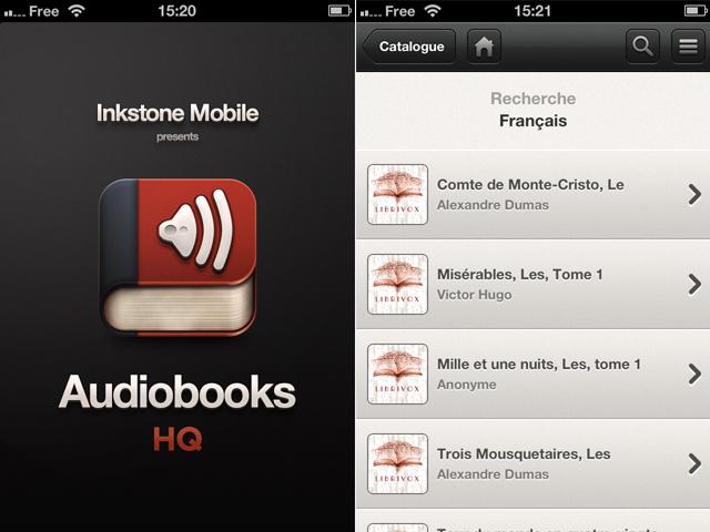 Audiobooks HQ : 5000 livres audio pour 1.79€