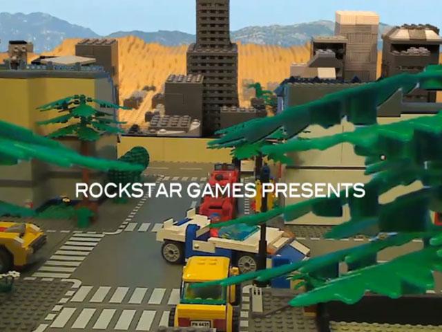 GTA 5 : la bande annonce reconstituée avec des LEGO