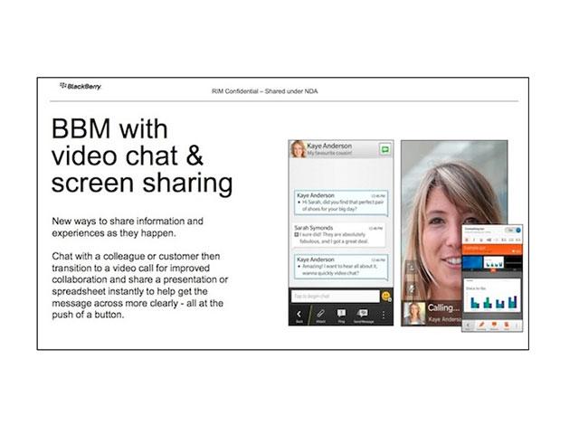 BBM Video : la messagerie vidéo