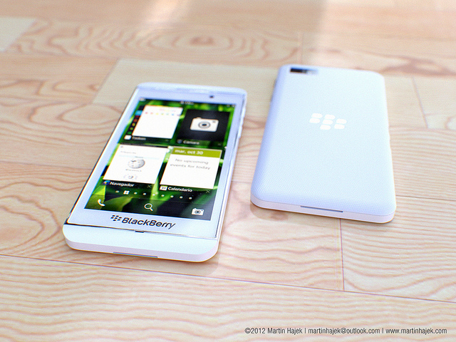 BlackBerry 10 L-Series blanc