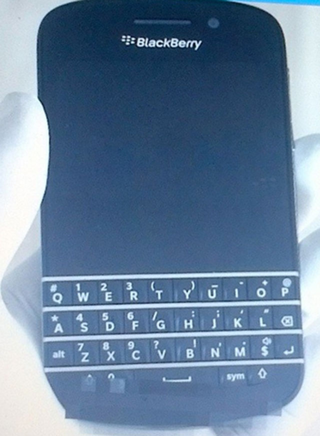 BlackBerry 10 N-Series : une première photo