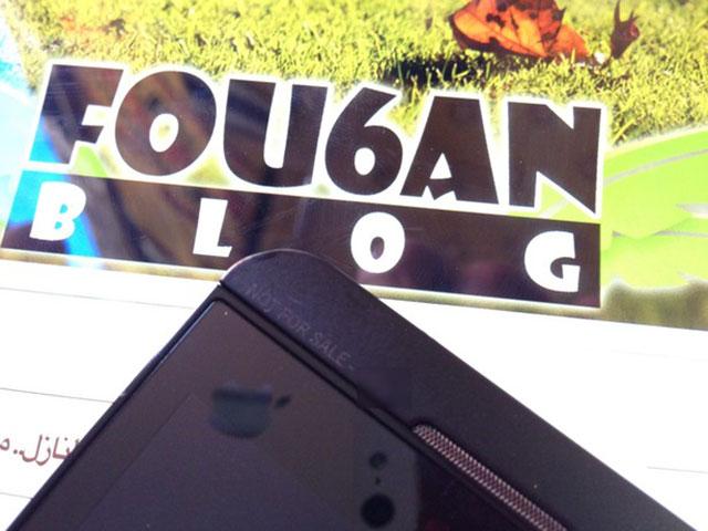 BlackBerry 10 : des photos prises avec un iPhone 5