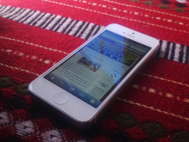 Une photo prise avec le BlackBerry 10